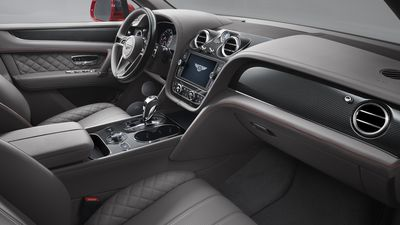 Inside Bentley's 2018, $335,000 V8 Bentayga SUV