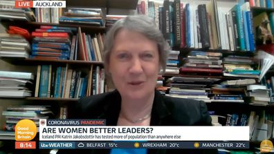 Helen Clark on Good Morning Britain