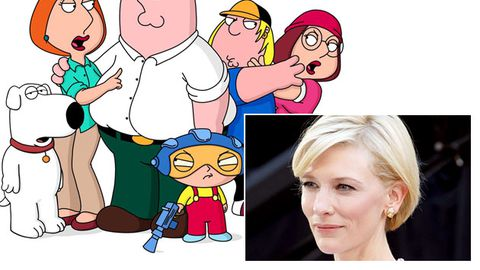 What the...?: Family Guy lands Cate Blanchett