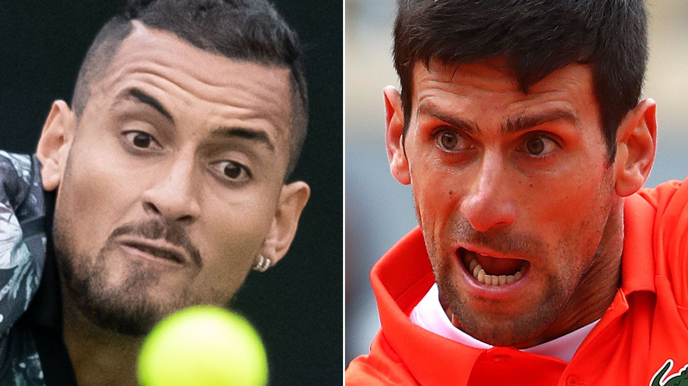 Novak Djokovic reveals how Nick Kyrgios turned on him after helpful gesture