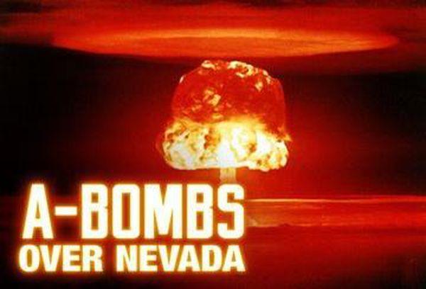 A-Bombs Over Nevada