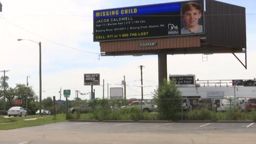 Police intensified the search recently and a tip-off may have come from somebody who saw one of many billboards.