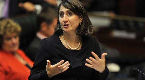 Current NSW Minister for Transport Gladys Berejiklian in State Parliament question time. (AAP)