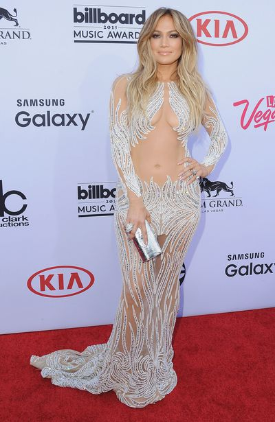 Jennifer Lopez inCharbel Zoe Couture at the 2015 Billboard Music Awards in Las Vegas, May, 2015