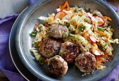 Thursday: Asian-style chicken meatballs