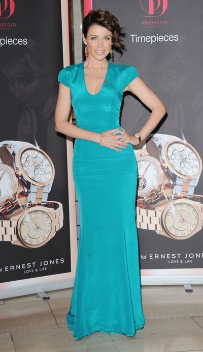Dannii Minogue  at the launch of her fashion label Project D in London, November, 2012