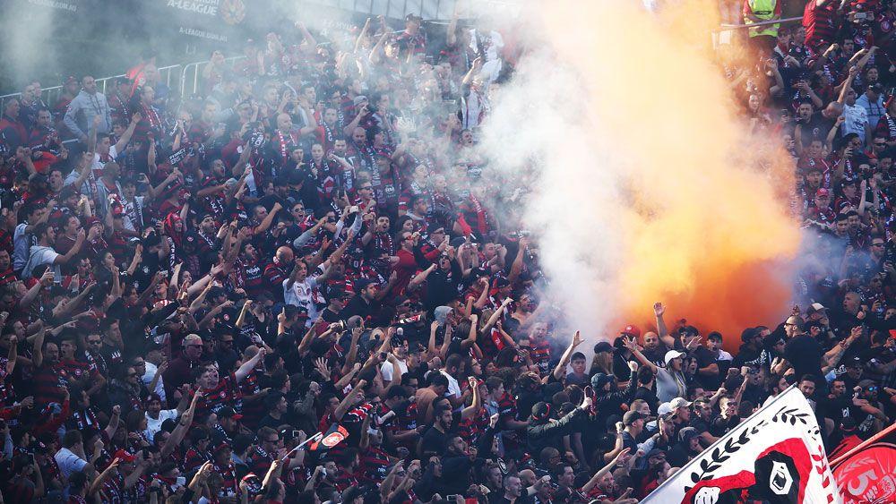 Wanderers risk FFA sanction over flares