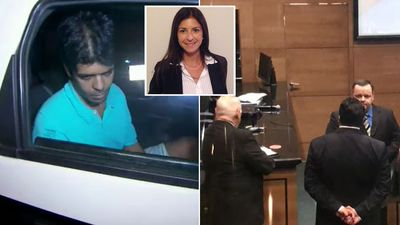 A Rio Court has heard a man accused of murdering his Sydney ex 'strangled her and placed weights in her pockets'