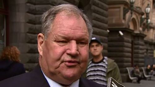 Lord Mayor Robert Doyle spoke about the plans this morning. (9NEWS)