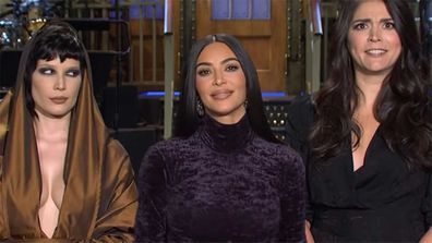 Kim Kardashian hosts Saturday Night Live