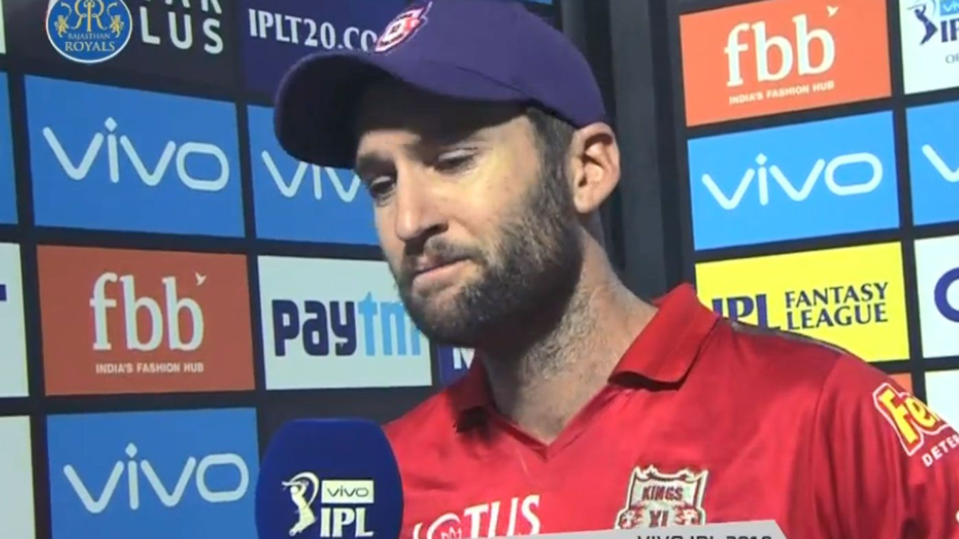Andrew Tye gets emotional after IPL loss to Rajasthan Royals