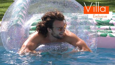 Exclusive: The boys battle it out in the pool