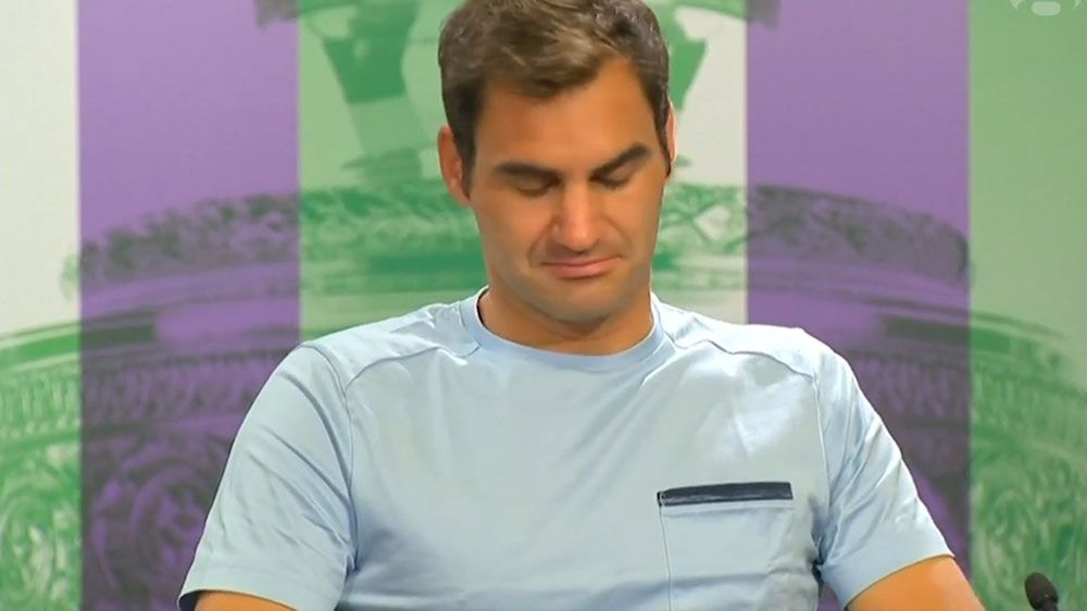 Fuzzy Roger Federer has Wimbledon hangover