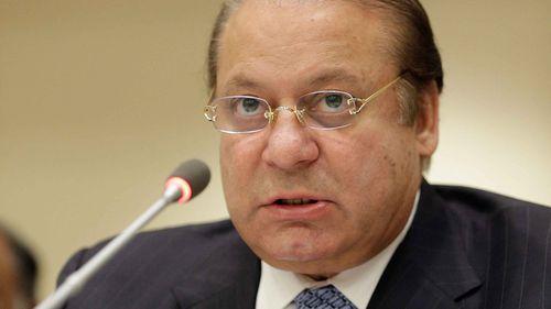 Pakistani Prime Minister Nawaz Sharif. (AAP)