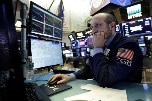 The increasing tension caused by the rift has already had negative effects on Wall Street, with the Dow Jones losing 572 points on Friday alone. Picture: AAP.
