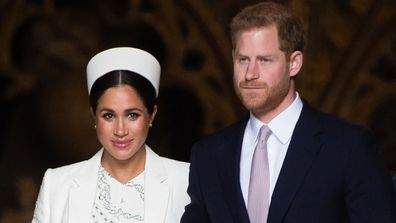 Duke and Duchess of Sussex at the Commonwealth Day service in 2019