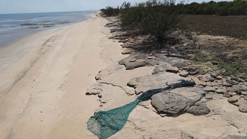 190919 Gulf of Carpentaria plastic fishing nets debris aerial survey research environment turtles damage news Australia