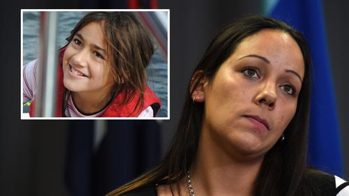 Tiahleigh's mother made a public appeal for information. (AAP)