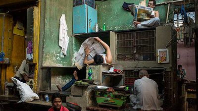 """<p _tmplitem=""""1"""">Sydney photographer Karl Grenet has taken out the Australian section of the 2015 Sony World Photography Awards.</p><p _tmplitem=""""1""""> Grenet's winning image """"Escher's Market"""", depicting the life and colour of a Mumbai, India bazaar, was selected by a panel of judges to take out one of 10 open categories. </p><p _tmplitem=""""1""""> """"I came across this scene one afternoon in November 2014 while exploring the maze-like Mirza Ghalib Municipal Market in the Null Bazar area of Mumbai,"""" the now Malaysia-based street photographer and documentary maker said. </p><p _tmplitem=""""1""""> """"As this is a 24-hour market, the shopkeepers take any possible opportunity between sales to rest for a few minutes. </p><p _tmplitem=""""1""""> """"I chatted with the shopkeepers at this stall for 20 minutes, all the while making images of the scene, with no two images being the same due to the constant movement of shopkeepers going to their own stalls to make a sale, then returning to this stall to rest."""" </p><p _tmplitem=""""1""""> Grenet's image will also be shown as part of the awards' exhibition at Somerset House, London from April 24 to May 10. </p><p _tmplitem=""""1""""> Runners up in the Australian award are Melbourne-based photographer Mihai Florea, who finished second, and Wollongong native Ben McRae, who came third. </p><p _tmplitem=""""1""""> Click through to see a selection of the winning entrants from across the globe. To see the full shortlist of winners, visit <a href=""""http://www.worldphoto.org/about-the-sony-world-photography-awards/"""">worldphoto.org</a></p>"""