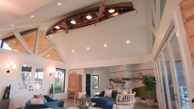 One Of A Kind Canoe Renovation Ruth and Bryson's home by Grace