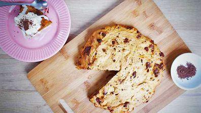 Jane de Graaff's giant choc-chip and sweet potato skillet cookie recipe