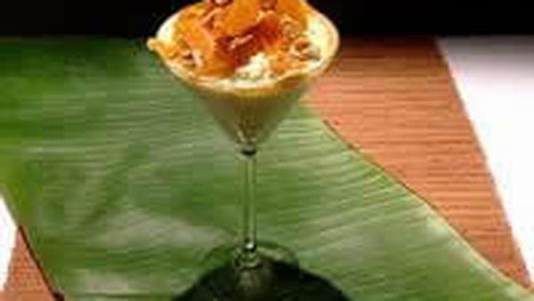 Orange and bay leaf rice pudding