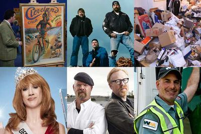 <i>Antiques Roadshow</i><br/><br/><i>Deadliest Catch</i><br/><br/><i>Hoarders</i><br/><br/><i>Kathy Griffin: My Life on the D-List</i><br/><br/><i>MythBusters</i><br/><br/><i>Undercover Boss</i>