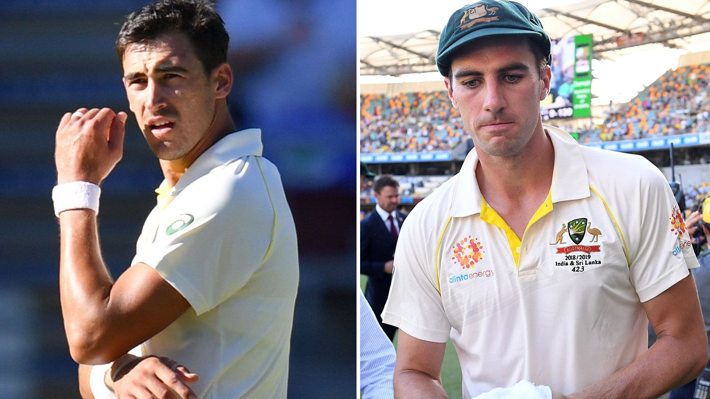 Starc and Cummins