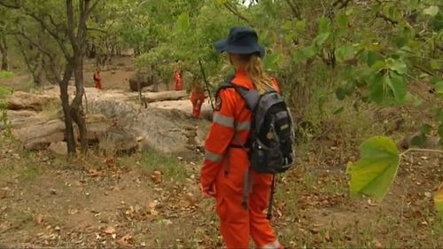 More than 40 SES workers were involved in the operation. (9NEWS)