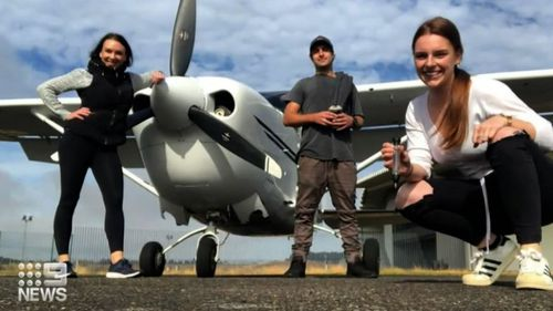The friends were found in an outback karaoke bar in South Australia.