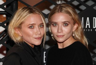Actresses and designers. Mary-Kate and Ashley Olsen are rarely apart.