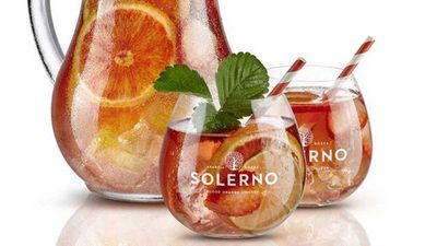 "Recipe:&nbsp;<a href=""https://kitchen.nine.com.au/2017/12/01/13/08/solerno-punch"" target=""_top"">Solerno fruity punch</a>"