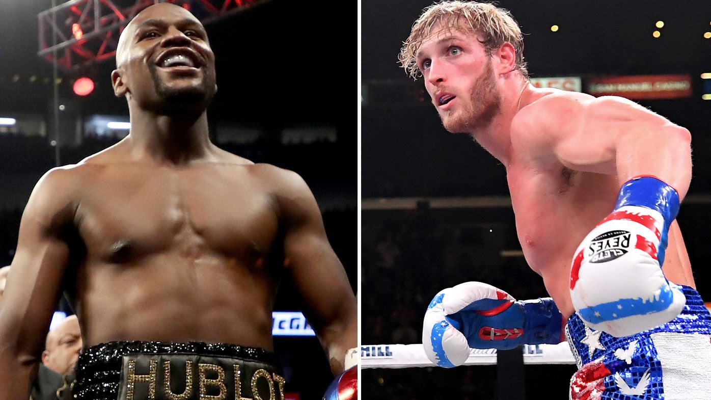 Floyd Mayweather will fight Logan Paul in 2021. (Getty)