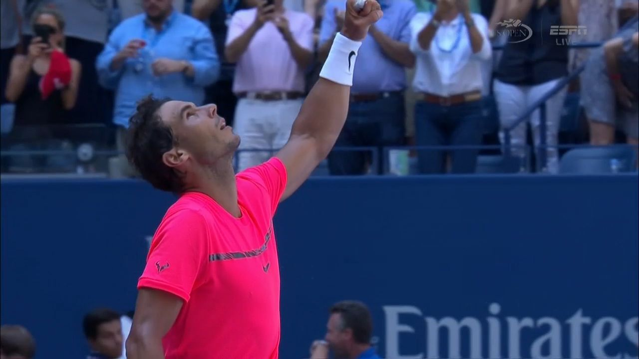 Nadal cruises through to US Open quarter-finals