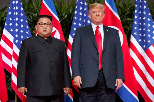 At a leaders' summit in June both the US and North Korea pledged to work towards the complete denuclearisation of the Korean Peninsula.