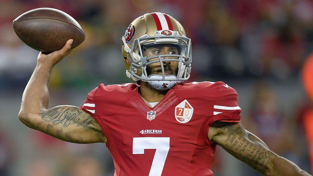 San Francisco 49ers quarterback Colin Kaepernick. (AFP)