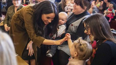 The Duke and Duchess of Sussex surprised their neighbours in Windsor at a coffee morning for military families 4