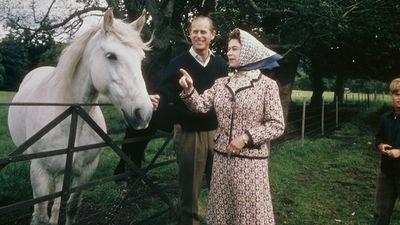 Prince Philip and Queen Elizabeth, 1972