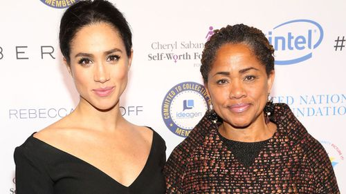 Meghan's mother Doria Ragland may walk her down the aisle. (Supplied)