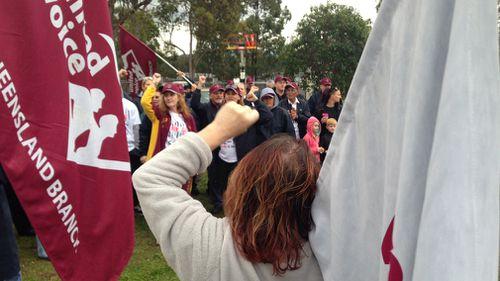 Brisbane jail in lockdown as prison guards strike