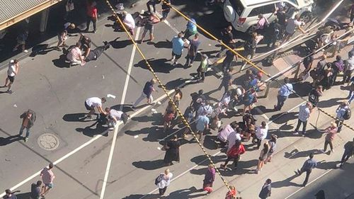 The CBD was sent into chaos after the rampage.