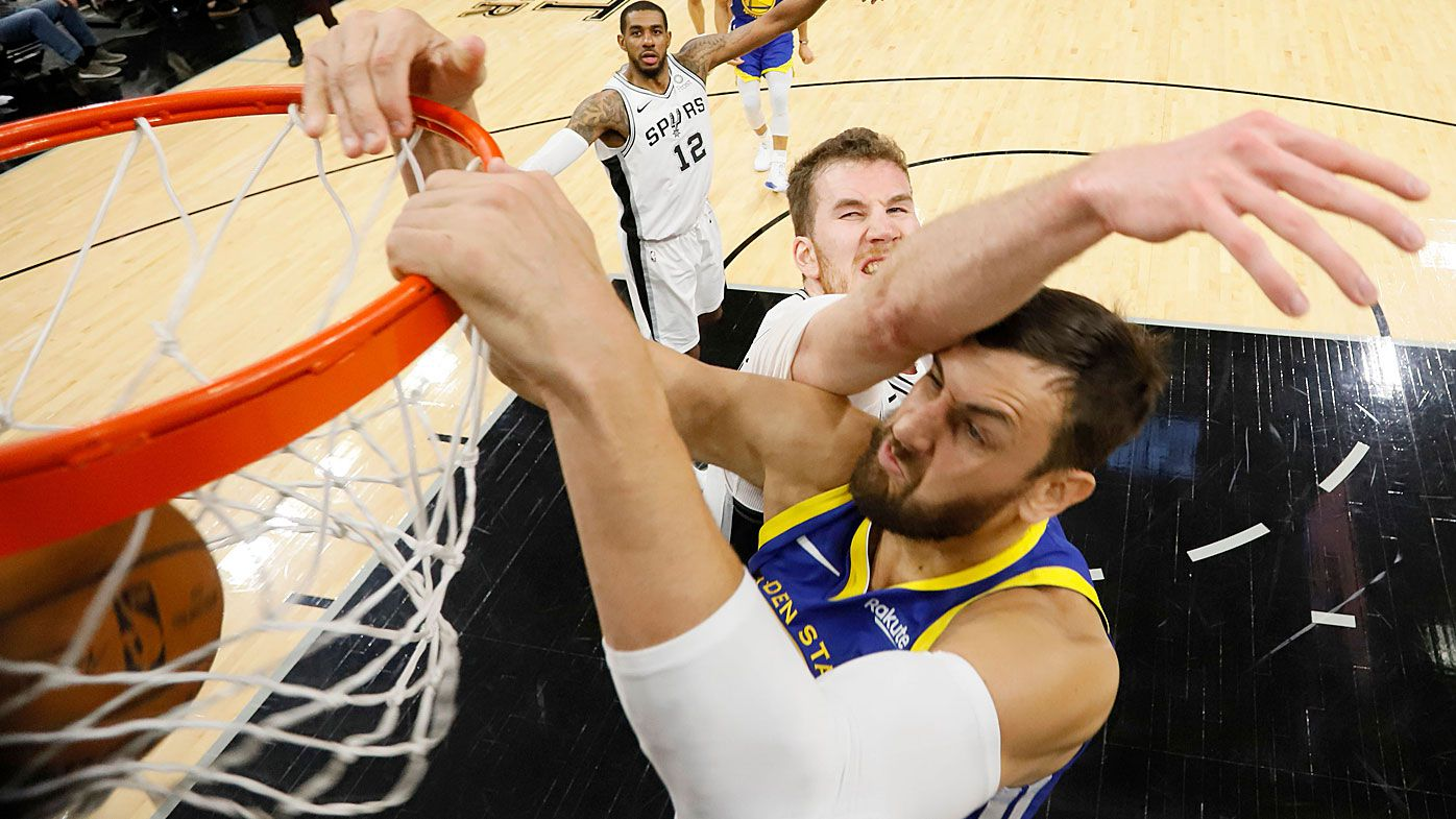 Andrew Bogut impresses but Golden State Warriors fall to San Antonio Spurs