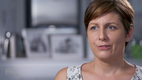 Natalie Parker donated her embryos after reading a story about a case study where the two families kept in contact with each other. (60 Minutes)
