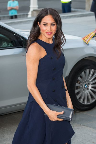 Meghan Markle at a reception hosted by the Prime Minister of New Zealand at the Auckland War Memorial Museum, in Auckland, New Zealand, October 30, 2018