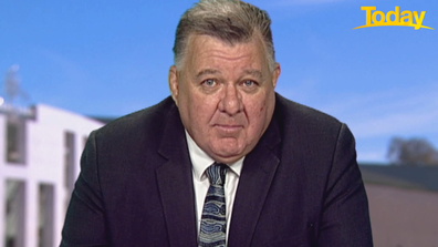 MP Craig Kelly defended his posts on Today.