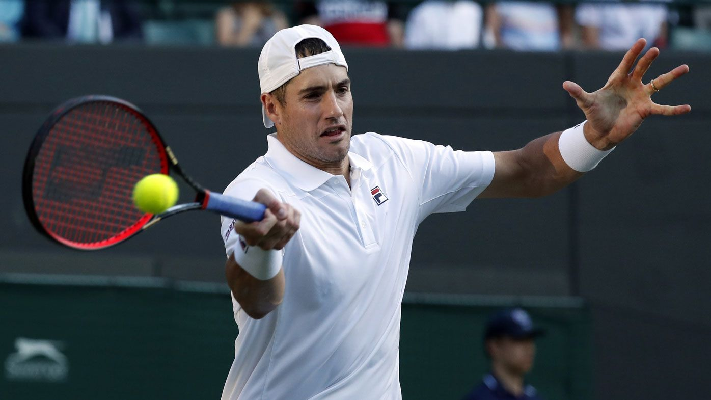American John Isner makes first major semi-final at 33 at Wimbledon