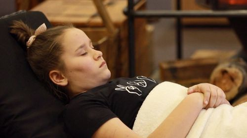Hypnosis has helped Chloe control the pain.