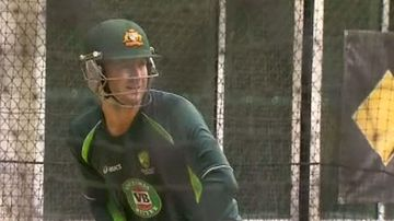 Clarke will play the First Test against India tomorrow. (9NEWS)
