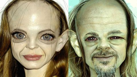 Angelina Jolie, Brad Pitt and other celebs transformed into Gollum from <i>The Hobbit</i>