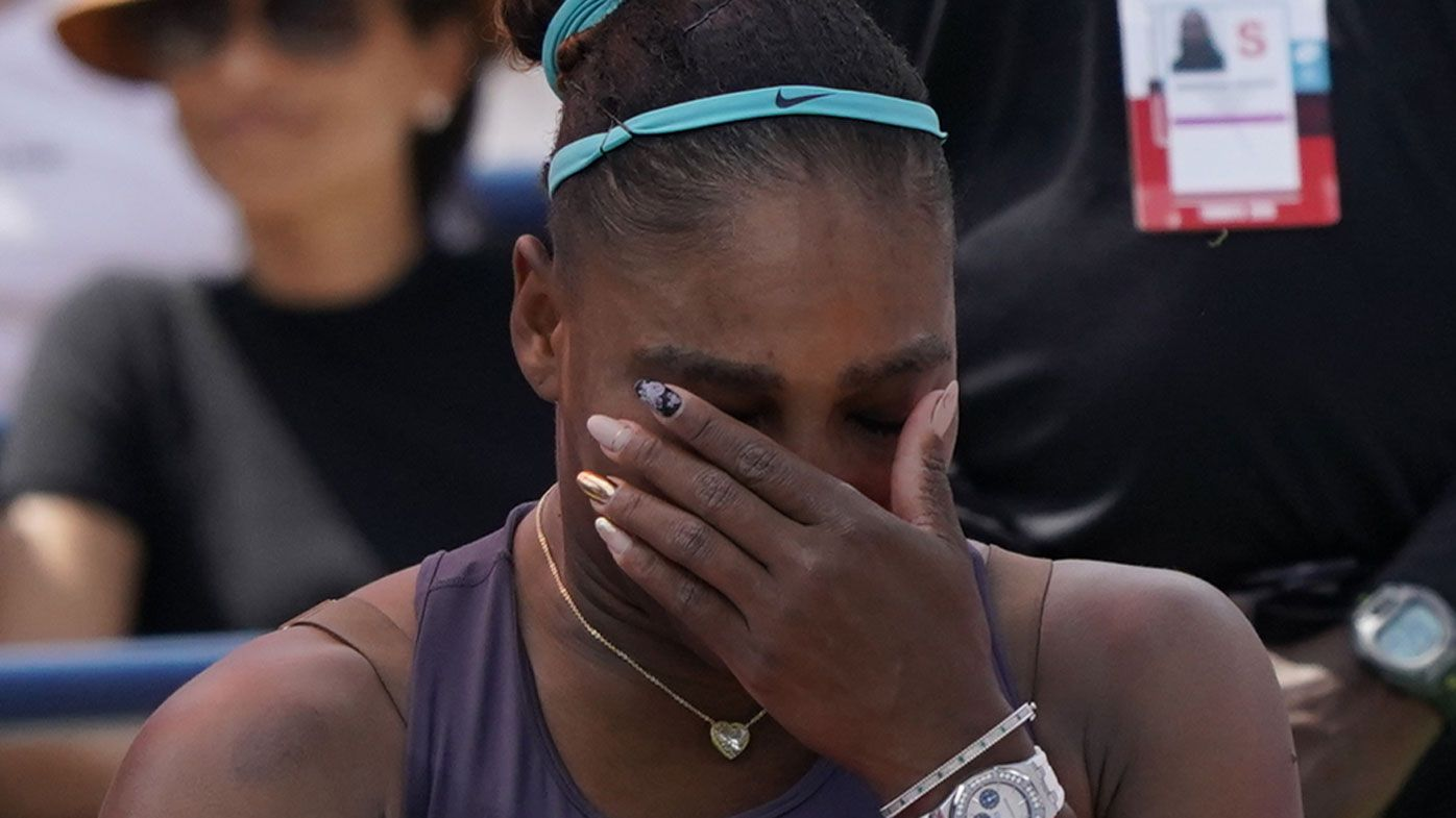 Serena Williams breaks down in Toronto, opponent has heartwarming reaction